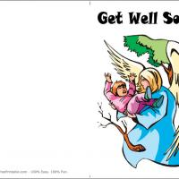Printable Angels Guiding - Printable Get Well Cards - Free Printable Cards