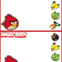 Printable Angry Birds Postcards - Printable Card Maker - Free Printable Cards