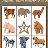 Printable Animal Life Bingo Card 4 - Printable Bingo - Free Printable Games