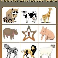 Printable Animal Life Bingo Card 6 - Printable Bingo - Free Printable Games