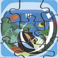 Printable Aquarium Puzzle - Printable Puzzles - Free Printable Games