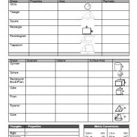 Printable Area And Perimeter Worksheet Chart - Free Printable Math Worksheets - Free Printable Worksheets