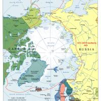 Arctic Region General Reference Map