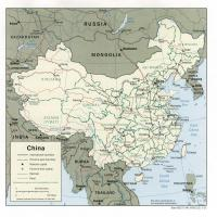 Asia- China Political Map