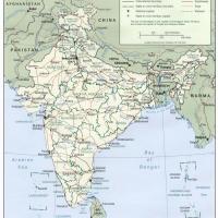 Asia- India Political Map
