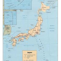 Asia- Japan Political Map