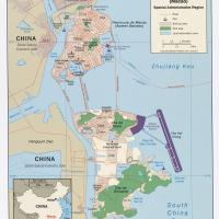 Printable Asia- Macau Political Map - Printable Maps - Misc Printables