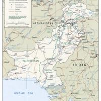 Printable Asia- Pakistan Political Map - Printable Maps - Misc Printables