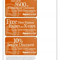 Aspen Various Discounts and Freebies
