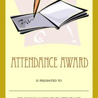 Attendance Award