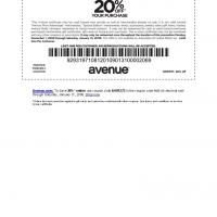 Avenue 20% Off on Purchases