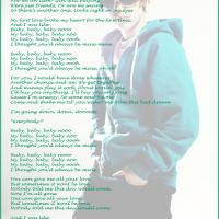 Printable Baby by Justin Bieber Lyrics - Printable Sheet Music - Free Printable Music