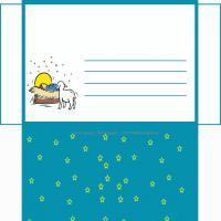 Printable Baby In The Manger - Printable Card Maker - Free Printable Cards