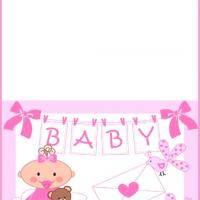 Baby Pink Card