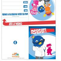 Backyardigans &quot;Master of Disguise&quot; Party Invitations