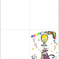 Printable Balloons And Gifts - Printable Birthday Cards - Free Printable Cards