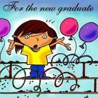 Printable Balloons For The New Graduate Postcard - Printable Graduation Cards - Free Printable Cards