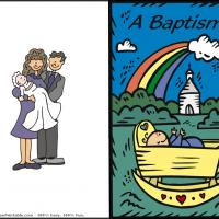 Baptism Rainbow
