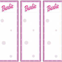Printable Barbie Bookmark - Printable Bookmarks - Free Printable Crafts