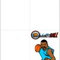 Printable Basketball Thank You Card - Printable Thank You Cards - Free Printable Cards