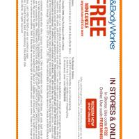 Bath and Body Works Free Mini Candle Coupon