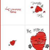 Printable Be Mine Card - Printable Valentines - Free Printable Cards
