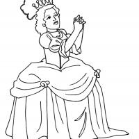 Printable Beautiful Princess 17 - Printable Princess - Free Printable Coloring Pages
