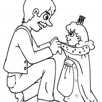 Printable Beautiful Princess 8 - Printable Princess - Free Printable Coloring Pages