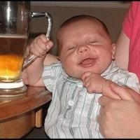 Beer Loving Baby