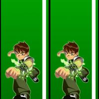 Printable Ben 10 Bookmark - Printable Bookmarks - Free Printable Crafts