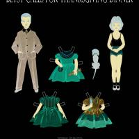Betsy McCall Thanksgiving Paper Doll