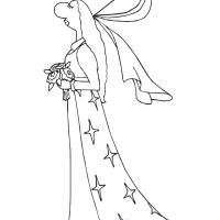 Printable Big Nose Princess 9 - Printable Princess - Free Printable Coloring Pages