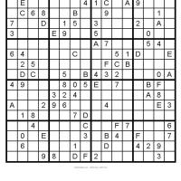 Big Sudoku 1