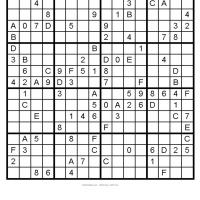Big Sudoku 10