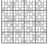 Big Sudoku 4