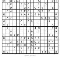 Big Sudoku 6