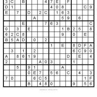 Samurai Sudoku Printable on Free Printable 36x36 Sudoku