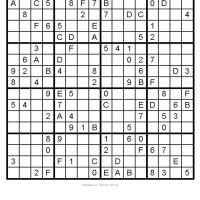 Free Sudoku Printable Puzzles on Free Printable Sudoku Puzzles   Photography