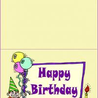 Birthday Boy Frame Cards