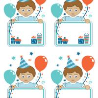 Birthday Boy Gift Cards