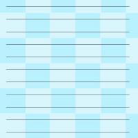 Blue Checkers Notepad