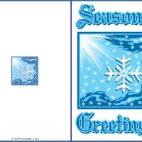 Blue Season's Greetings