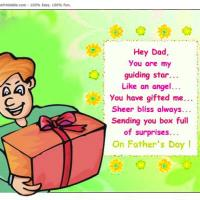 Printable Box Of Surprise - Printable Fathers Day Cards - Free Printable Cards