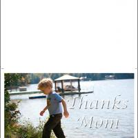 Printable Boy By The River - Printable Mothers Day Cards - Free Printable Cards