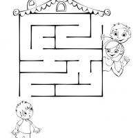 Printable Boy Maze - Printable Mazes - Free Printable Games