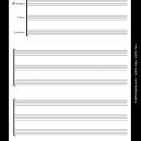 Printable brass trio - Printable Sheet Music - Free Printable Music