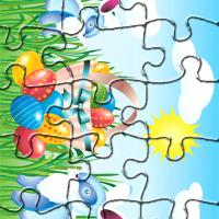 Bunnies Easter Day Puzzle