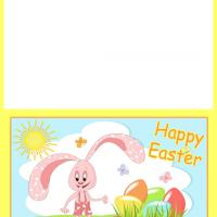 Bunny's Sunny Easter Card