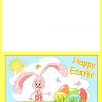Bunny's Sunny Easter Card