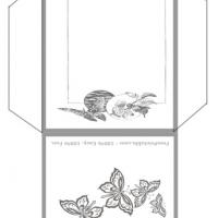 Printable Butterflies Envelope - Printable Card Maker - Free Printable Cards